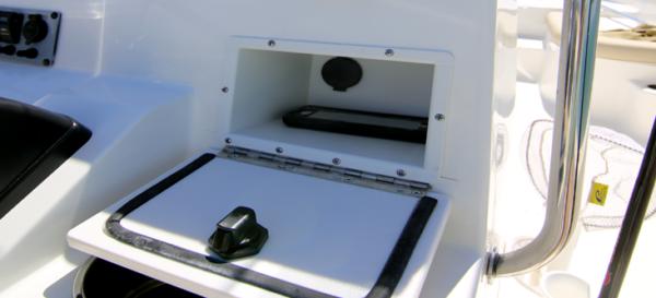Glove Box with Power Port
